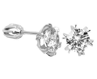 Stříbrné náušnice s krystalem 436 001 00442 04 - 1,92 g