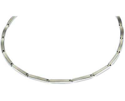 Bicolor titanový náhrdelník 08020-02