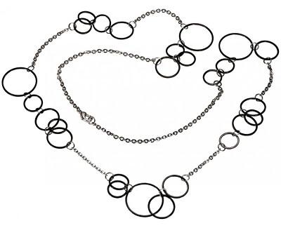 Titan Halskette schwarz 0853-03