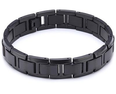 Schwarzes Titanarmband für Herren0337-04