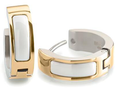 Cercei placați cu aur din titan 0593-03