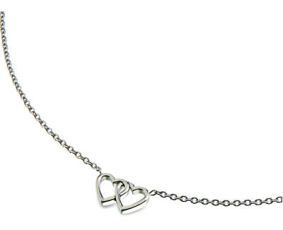 Srdiečkový titanový náhrdelník 08023-01