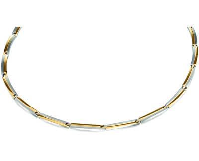 Titanový bicolor náhrdelník 08021-02