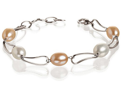 Brățară din titan cu perle 0382-01