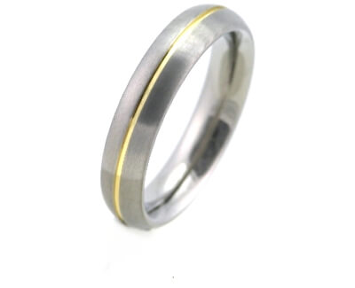 Titanový snubní prsten 0130-02