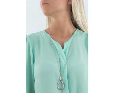Halskette mit Zirkonia Ribbon BBN01