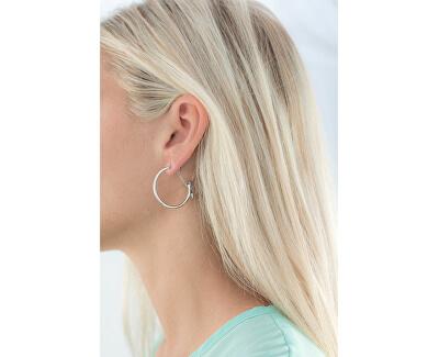 Stahl Ohrringe Kreise BTJM136