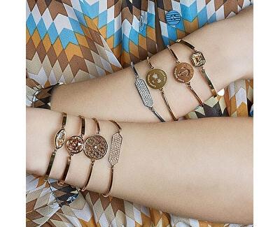 Edelstahl Armband Cross Chakra BHK71