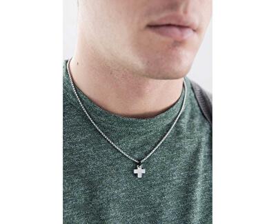 Lanț din oțel cu cruce pentru bărbați BGN01