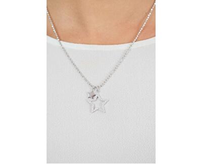 Stříbrný náhrdelník Musa G9MU02 (řetízek, přívěsek)