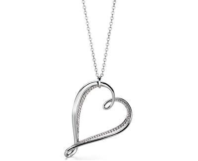Colier cu o inimă Ribbon BBN03