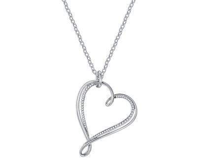 Colier cu inimă Ribbon Mini BBN07