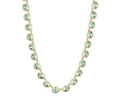 Edelstahl Halskette mit Swarovski Kristallen N-Tring BTN36