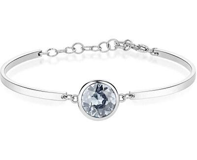 Edelstahl Armband Blue Crystal Chakra BHK72