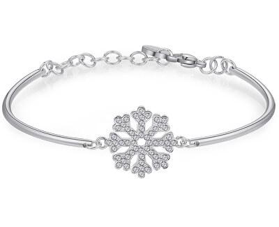 Oceľový náramok Snowflake Chakra BHK254