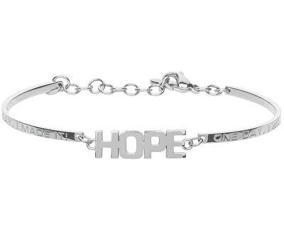 Oceľový náramok Chakra Hope BHK240