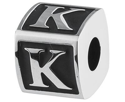 Pandantiv din oțelAlphabet K TJ Man BTJN54