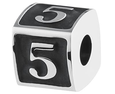 Edelstahl Anhänger Numbers 5 TJ Man BTJN74