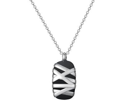 Herren Edelstahl Halskette Stoneage BOG04