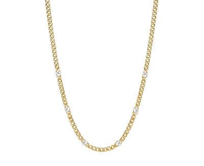 Pozlacený náhrdelník s krystaly Symphonia BYM84