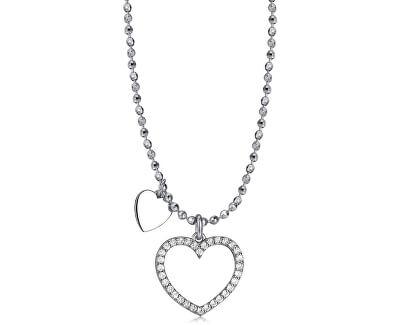 Stříbrný náhrdelník Musa G9MU01 (řetízek, přívěsek)
