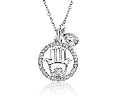 Stříbrný náhrdelník New Age G9NA04 (řetízek, přívěsek)