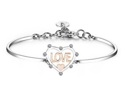 Brățară îndrăgostită din oțel Chakra BHK398