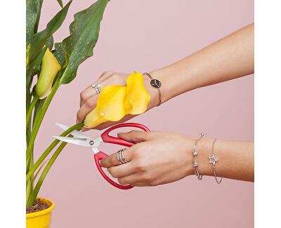 Edelstahl Armband Cancer Chakra BHK14