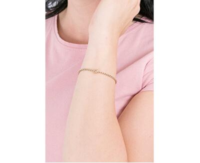 Pozlátený oceľový náramok na prívesky Très Jolie BBR5