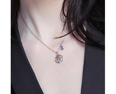 Stříbrný náhrdelník New Age G9NA05 (řetízek, přívěsek)