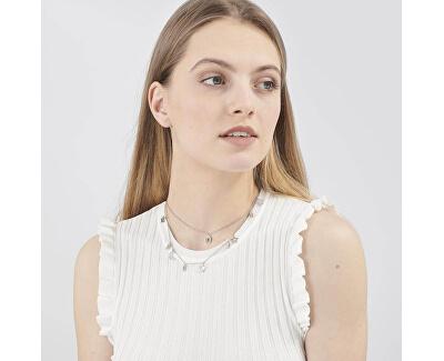 Zvýhodněná ocelová sada šperků Chant (náušnice, náhrdelník)