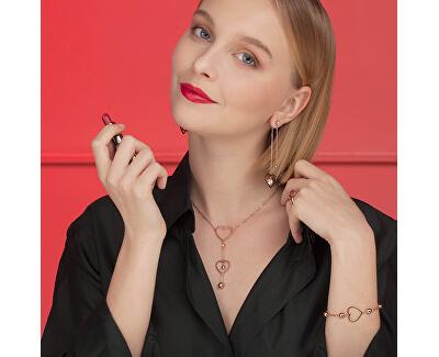 Zvýhodněná ocelová sada šperků Sight (náhrdelník, náušnice)