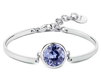 Brățară din oțel Lilac Crystal Chakra BHK82