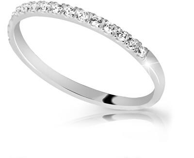 Prsten z bílého zlata s brilianty DZ6739-00-X-2