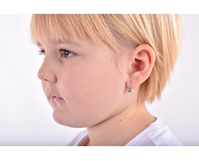 Dětské náušnice z bílého zlata C1737-10-X-2