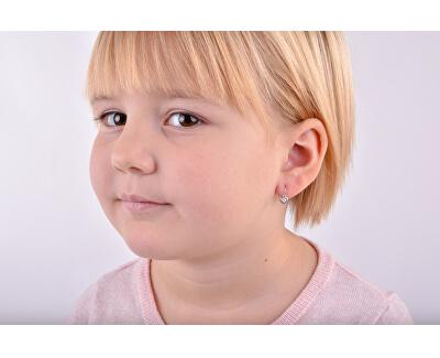 Dětské náušnice z bílého zlata C1943-10-X-2