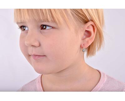 Dětské náušnice z bílého zlata C1984-10-X-2
