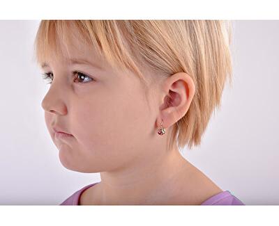 Dětské náušnice z bílého zlata Berušky C2008-10-40-X-2