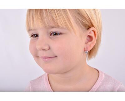 Dětské náušnice z bílého zlata C2157-10-X-2