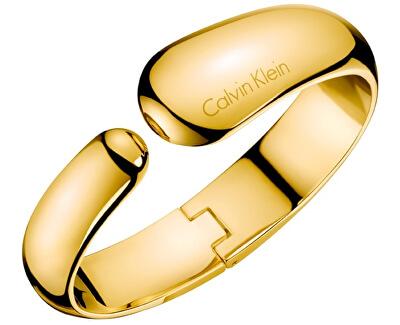 Brățară de lux din oțel placat cu aur galben Informal KJ6GJD10010