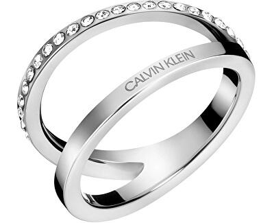 Luxusní ocelový prsten Outline KJ6VMR0401