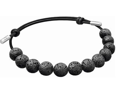 Náramok z lávových kameňov Soulful KJ8NBB14020