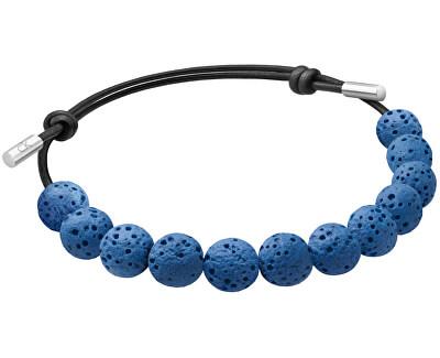 Náramok z modrých lávových kameňov Soulful KJ8NLB14010
