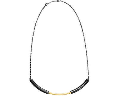 Oțel bicolor colier Dezvăluie KJ5FBJ200100
