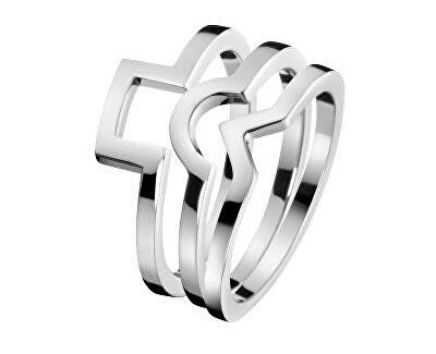 Inel de oțel 3 in 1 Wonder KJ4VMR0001