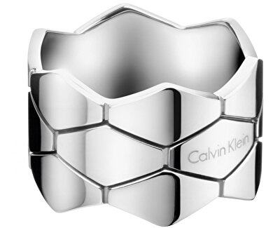 Ocelový prsten Triple Snake KJ5DMR0002