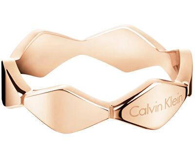 Inel din aur roz Snake KJ5DPR1001