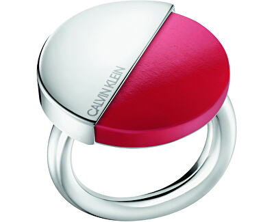Štýlový prsteň s červeným kameňom Spicy KJ8RRR0401