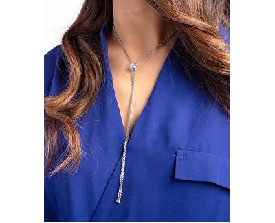 Luxusný oceľový náhrdelník Side KJ5QMN040100 s regulovateľnou dĺžkou