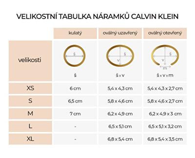 Luxusní ocelový náramek Outline KJ6VMF04010
